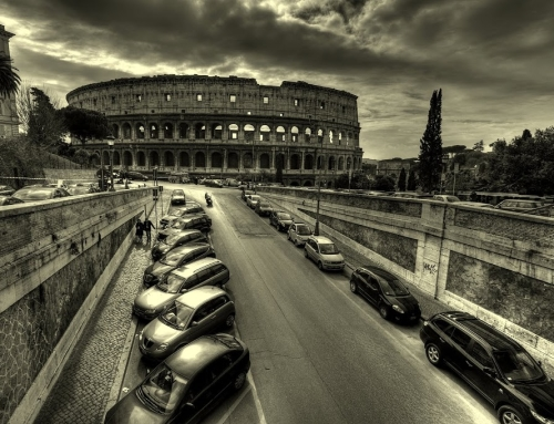 The Colosseum – different perspective