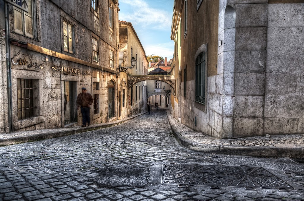 Another Lisbon Street And New Wallpaper Hdr Photographer