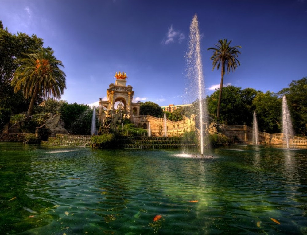 Fountain in Barcelona