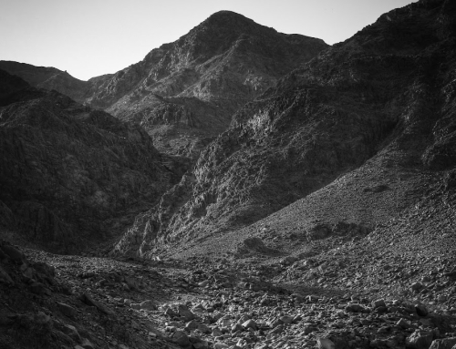 Mountains in Dahab