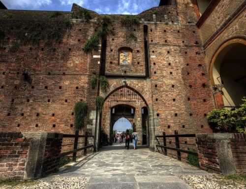 Castello Sforzesco – different perspective