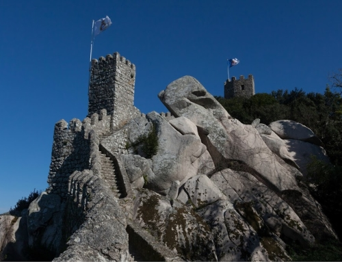 The Moorish Castle – before/after comparison