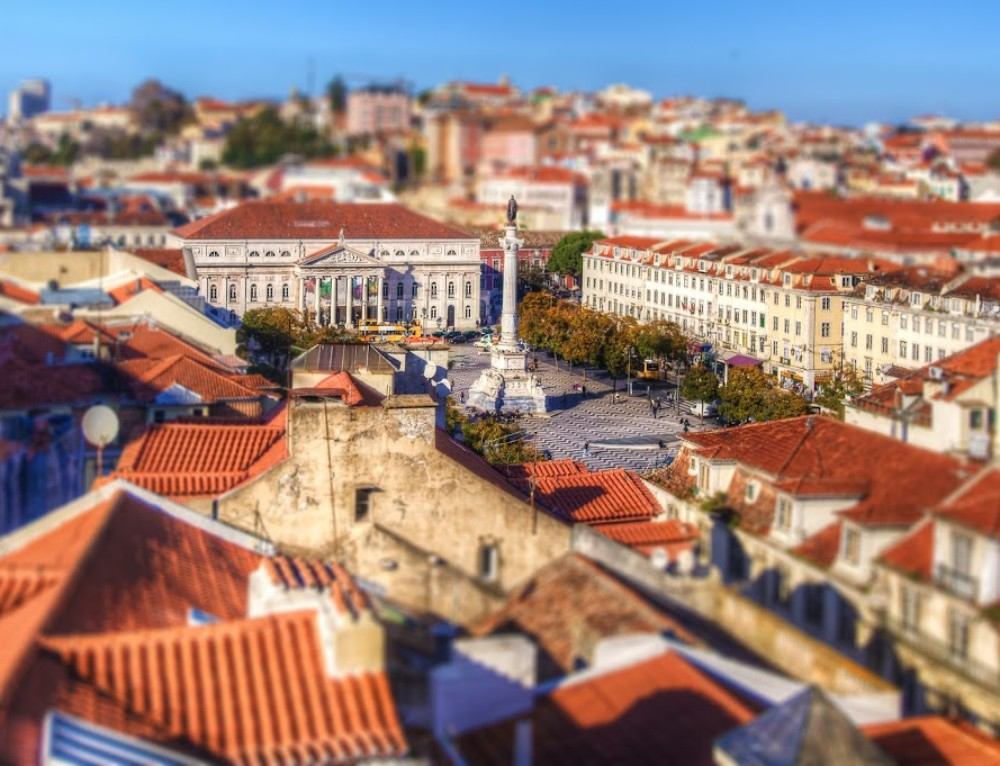 Tilt-shift from Lisbon