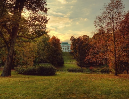Autumn in Warsaw