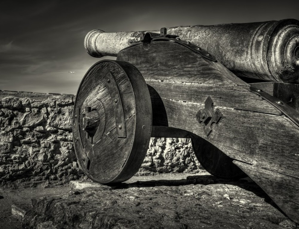 Cannon in St. Jorge's Castle