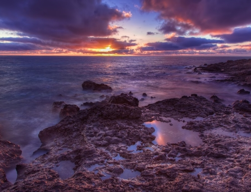 Sunrise on the Canary Islands