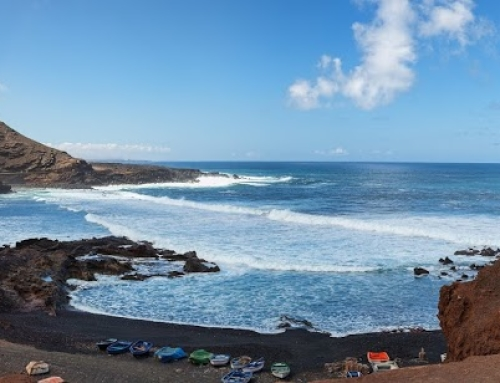 Panorama from Lanzarote