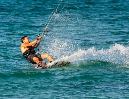 Kitesurfer and my article on HDR One