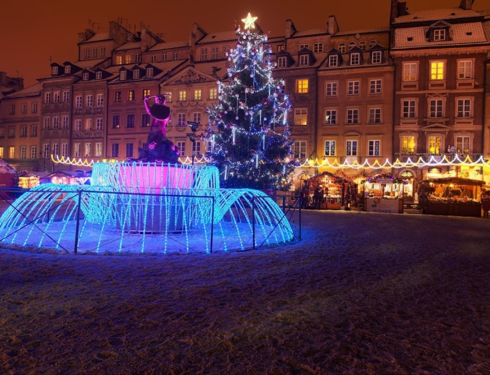 Christmas atmosphere in the Old Town