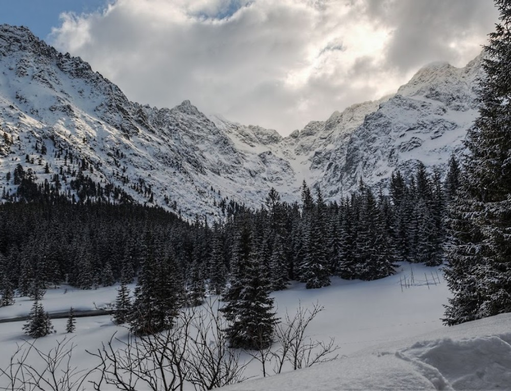 On the way to Morskie Oko