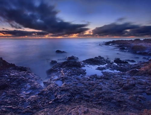 Long exposure HDR photo from Canary Islands
