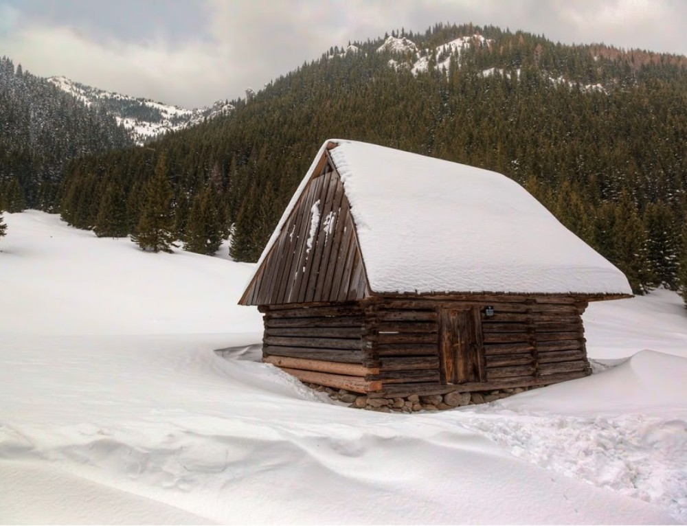 Lonely hut