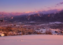 Case study: sunset in Tatra mountains