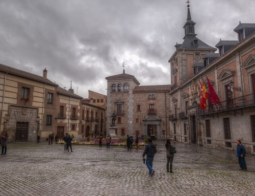 Old Town in Madrid