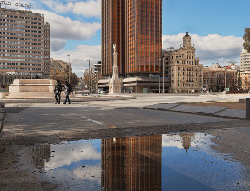 Reflection in a puddle – Torres Colon
