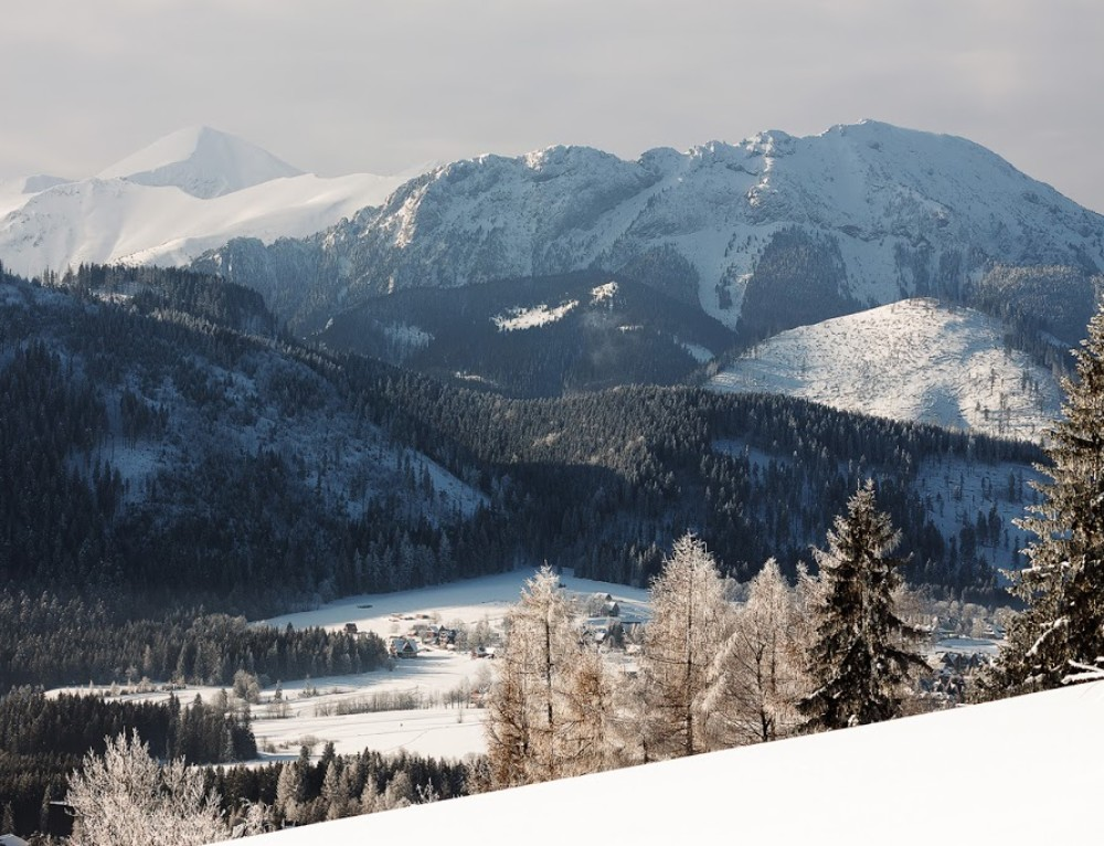 Cold morning in Tatra mountains