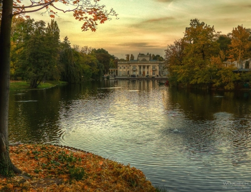 Royal Baths Park in HDR