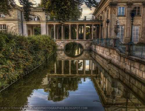 Reflection of a palace