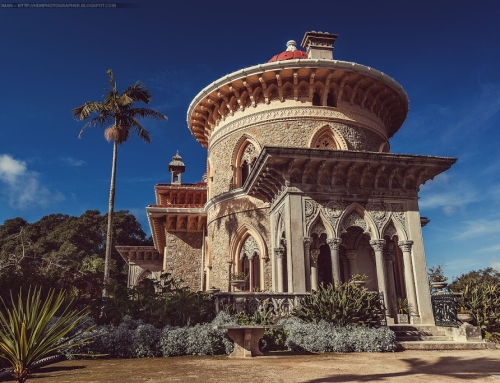 The Monserrate Palace in Sintra