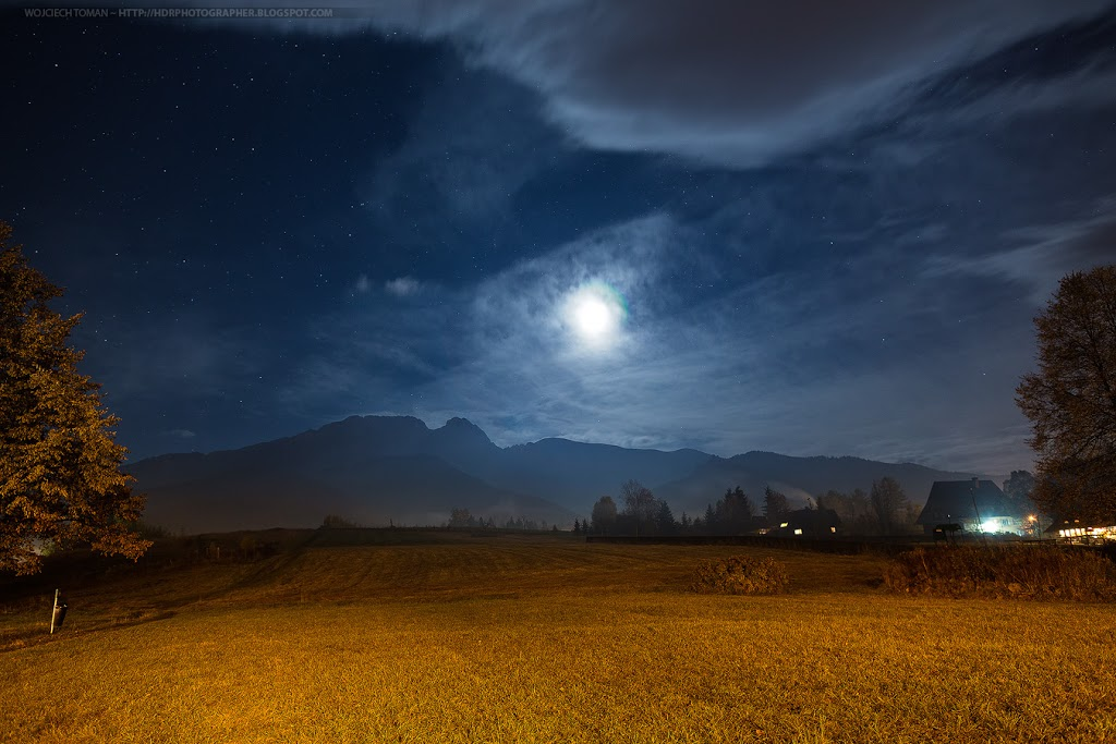 Night over Giewont