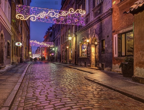 Waiting for Christmas in Warsaw