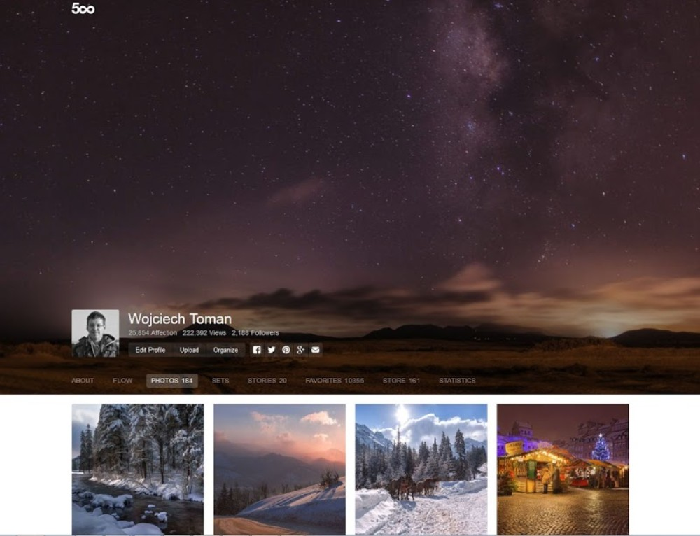 500px vs the rest – small update