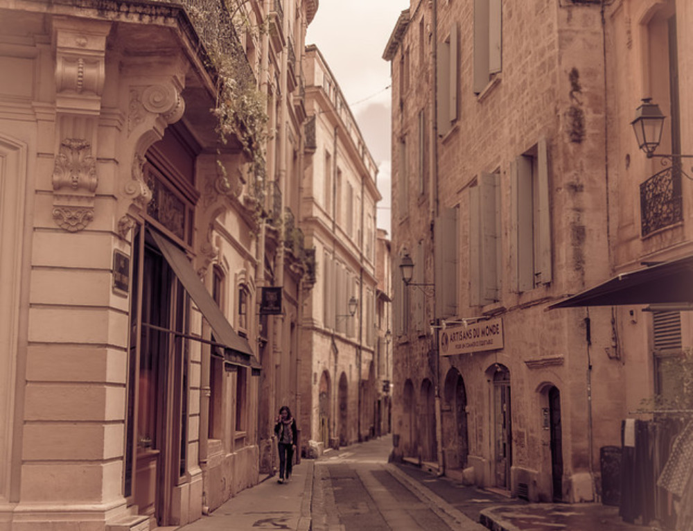 Street in Montpellier