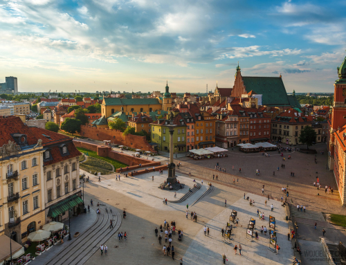 Warsaw Old Town is… new