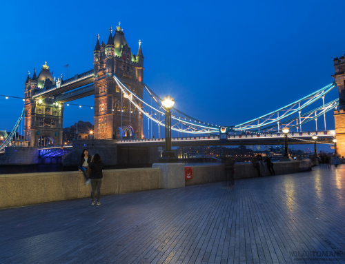 Tower Bridge in the evening