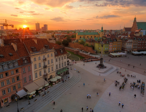 Add sunset glow to your landscape photos