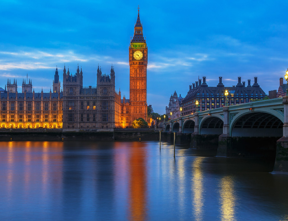 Post-processing Wednesday: Big Ben in the evening