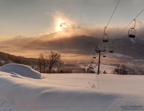 Sunrise in Tatra Mountains