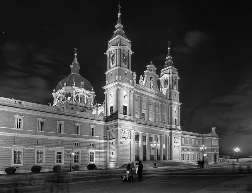 Almudena Cathedral at Night