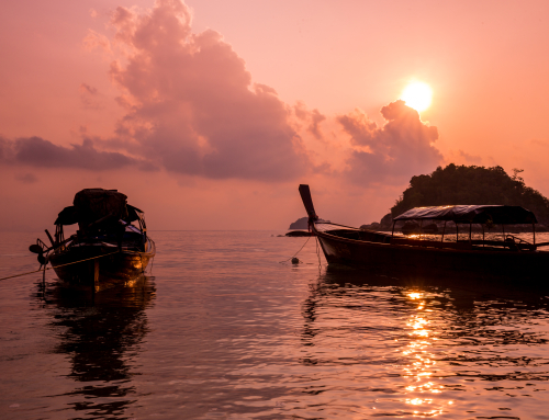 Sunrise on Koh Lipe island