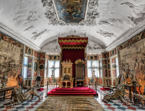 Throne Hall in Amalienborg Palace