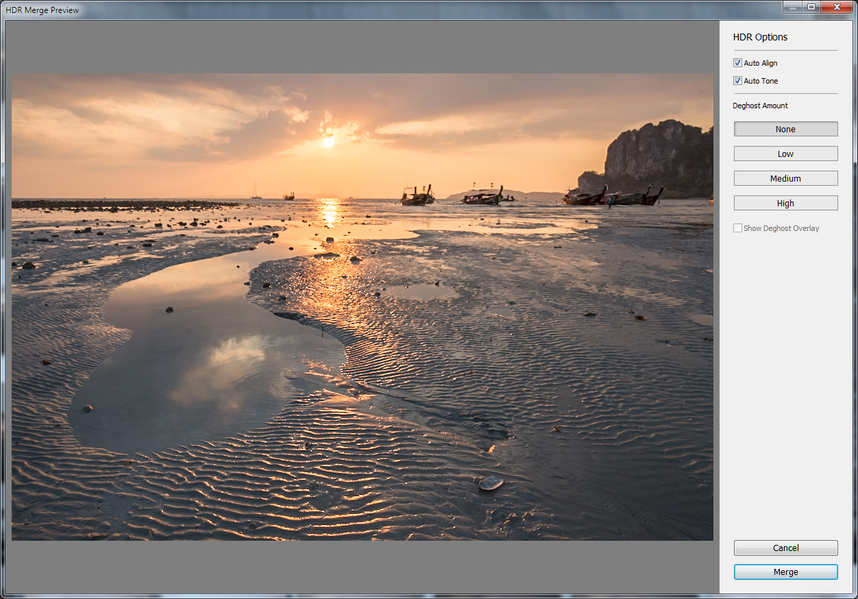 how to make a hdr in lightroom