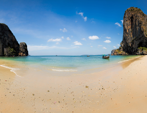 Phra Nang Beach panorama