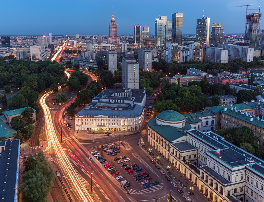 Warsaw, City in Motion