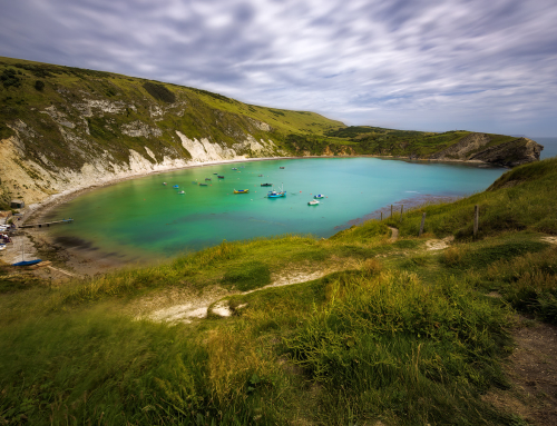 Lulworth Cove in Southern England