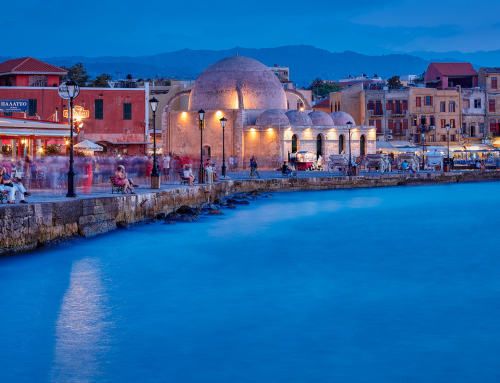 Busy Evening in Chania