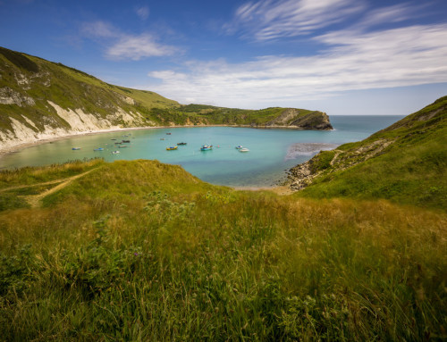 Lulworth Cove in UK