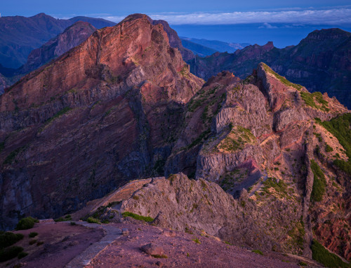 Pico do Arieiro at Sunrise