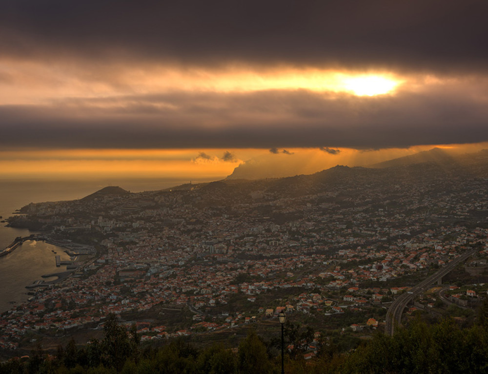 Gorgeous Sunset in Funchal