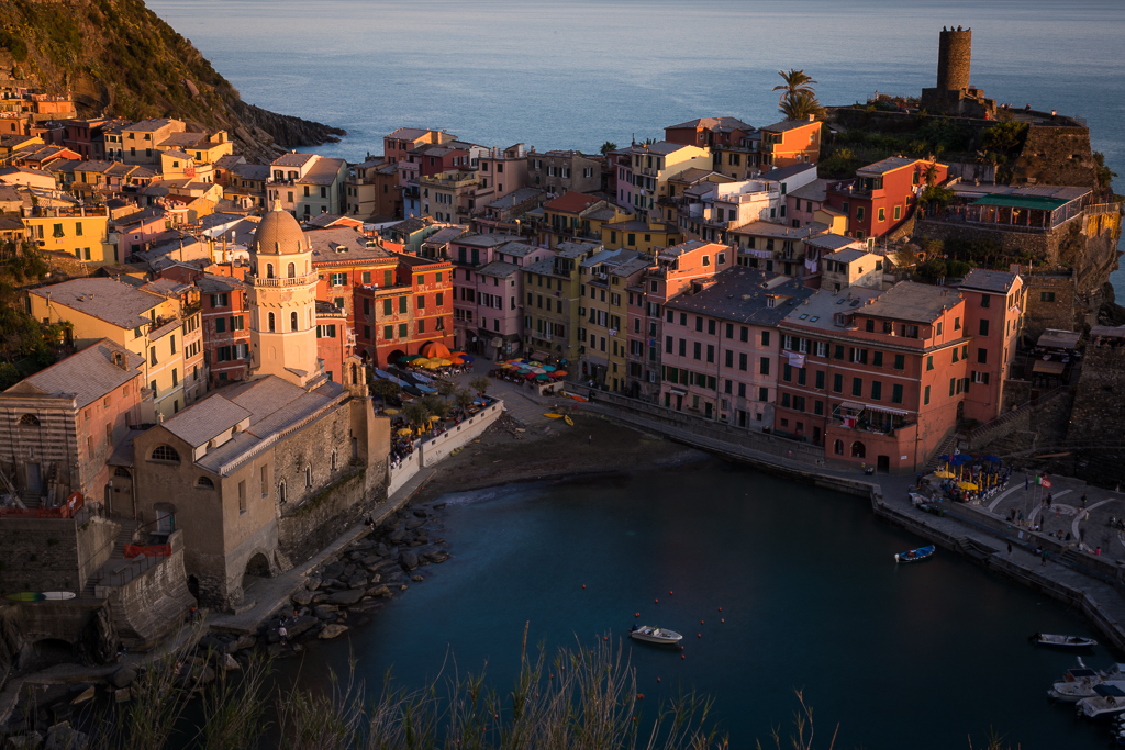 Vernazza town in Cinque Terre National Park
