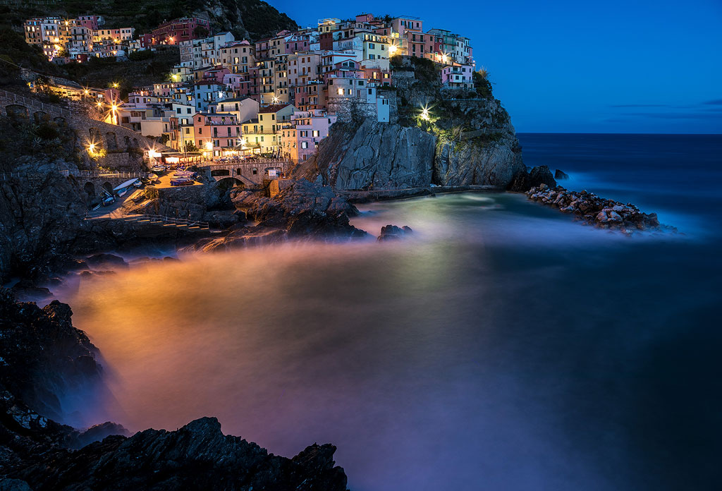 Manarola in the Evening