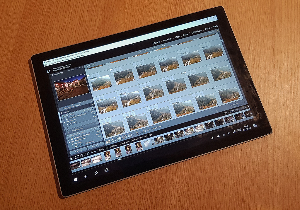 Surface Pro in tablet mode