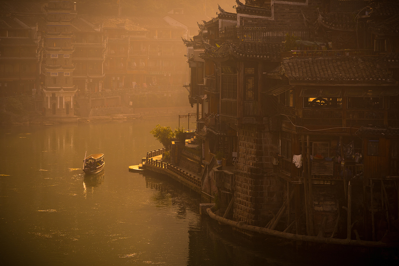 Early morning in Fenghuang, China