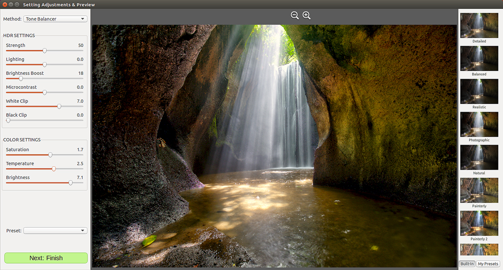 Photomatix for Linux 1.1